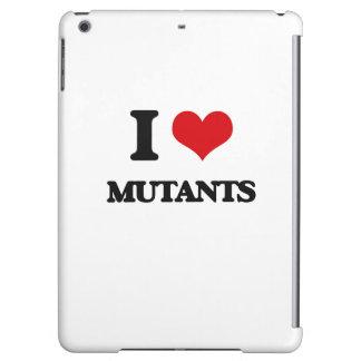 I Love Mutants iPad Air Cover
