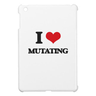 I Love Mutating iPad Mini Cases