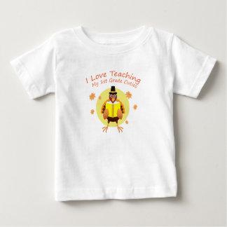I Love My 1st Grade Cuties Teacher First Grade Baby T-Shirt