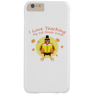 I Love My 1st Grade Cuties Teacher First Grade Barely There iPhone 6 Plus Case