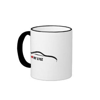 I Love My 370Z Ringer Coffee Mug
