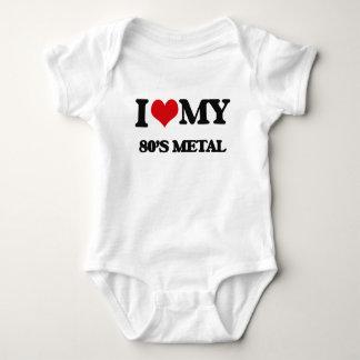 I Love My 80'S METAL T Shirts