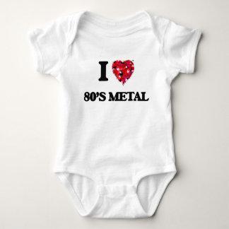 I Love My 80'S METAL Tee Shirts
