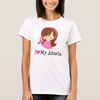 I Love My Abuela Breast Cancer Ribbon T-Shirt