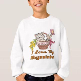I Love My Abyssinian Sweatshirt