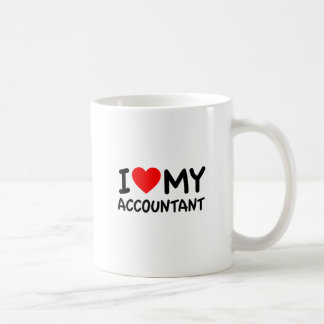 I Love My Accountant Coffee Mug