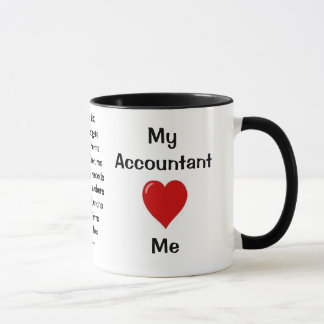 I Love My Accountant - Rude Reasons Why Mug