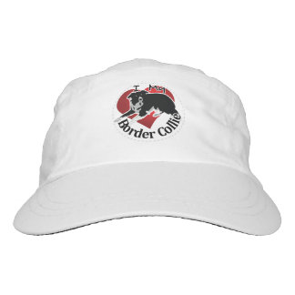 I Love My Adorable Funny & Cute Border Collie Dog Hat