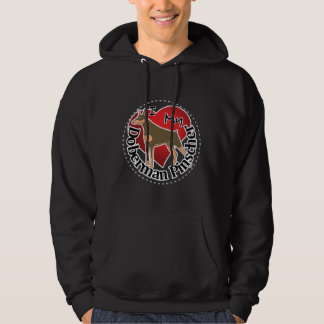 I Love My Adorable Funny & Cute Doberman Pinscher Hoodie