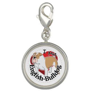 I Love My Adorable Funny & Cute English Bulldog Charm