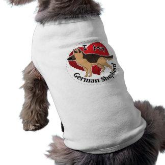 I Love My Adorable Funny & Cute German Shepherd Shirt