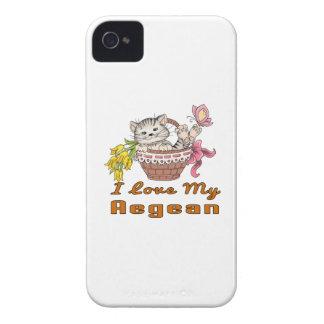 I Love My Aegean iPhone 4 Covers