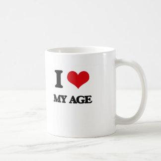 I Love My Age Coffee Mugs