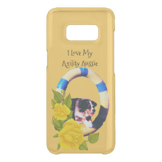 I Love My Agility Aussie, Yellow Roses Uncommon Samsung Galaxy S8 Case