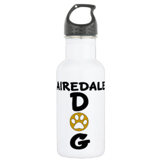 I Love My Airedale Dog Designs 532 Ml Water Bottle