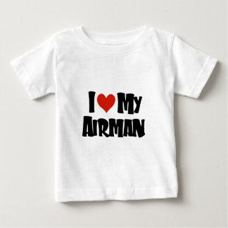 I love my Airman (Red) Tee Shirt