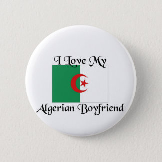 I love my algerian boyfriend 2 inch round button