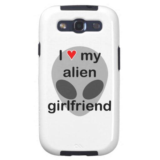 I love my alien girlfriend galaxy s3 case