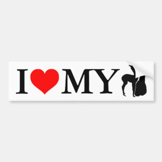 I Love My Alpacas - Bumper Sticker