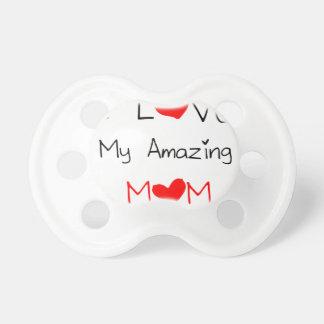 I Love My Amazing Mom Baby Pacifier