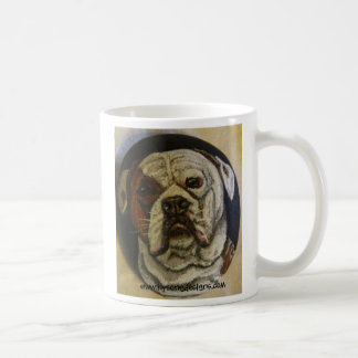 I LOVE MY AMERICAN BULLDOG! COFFEE MUG