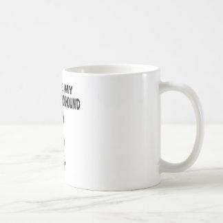I Love My American foxhound Dog Designs Coffee Mug