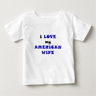 I Love my American Wife Tshirts