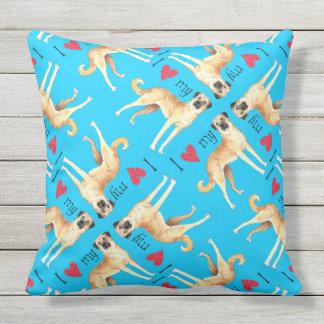 I Love my Anatolian Shepherd Dog Throw Pillow
