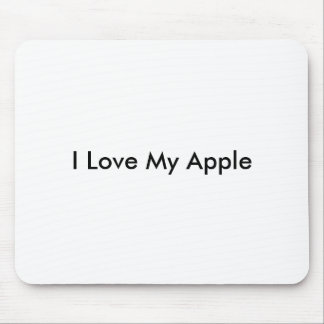 I Love My Apple -Mousepad Mouse Pad