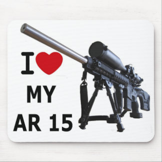 I Love My AR-15 Mouse Pad