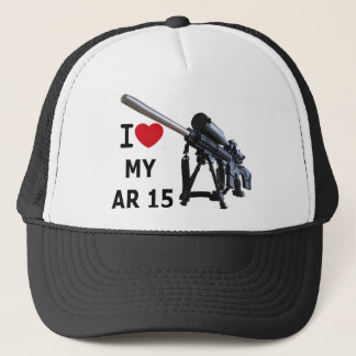 I Love My AR-15 Trucker Hat