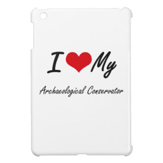 I love my Archaeological Conservator iPad Mini Covers