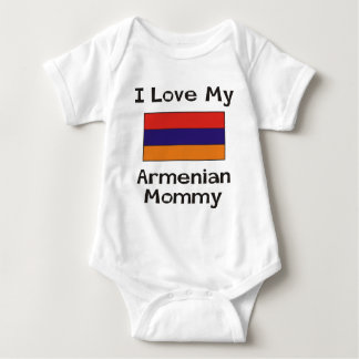 I Love My Armenian Mommy Baby Bodysuit