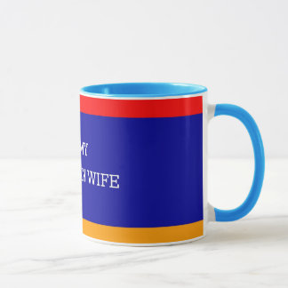 I Love My Armenian Wife, Armenian Flag Mug