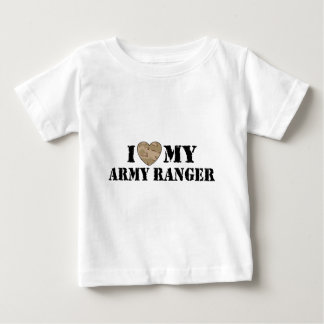 I Love My Army Ranger Baby T-Shirt