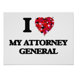 I Love My Attorney General Poster