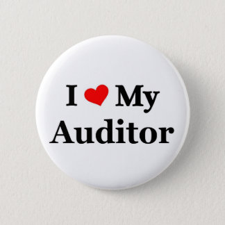 I love my Auditor 2 Inch Round Button
