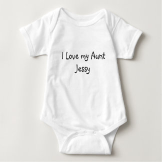 I Love my Aunt Jessy Baby Bodysuit
