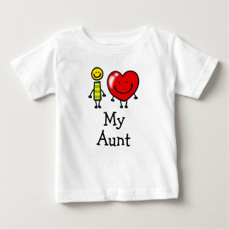 i love my aunt tee shirts