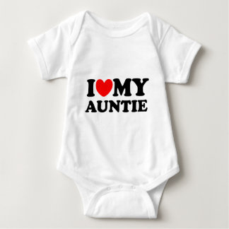 I Love My Auntie Baby Bodysuit