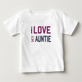 I Love My Auntie Baby T-Shirt