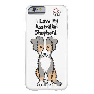 I Love My Australian Shepherd 2 iPhone Case