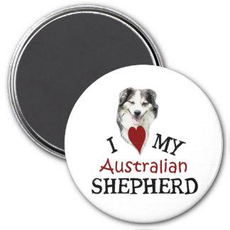 I love my Australian Shepherd Magnet