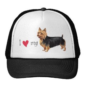 I Love my Australian Terrier Trucker Hat