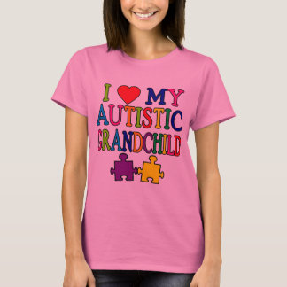 I Love My Autistic Grandchild T-Shirt