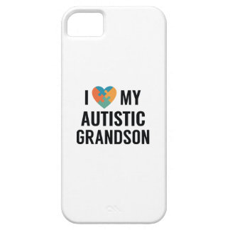 I Love My Autistic Grandson Case For The iPhone 5