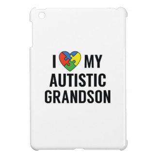 I Love My Autistic Grandson iPad Mini Case