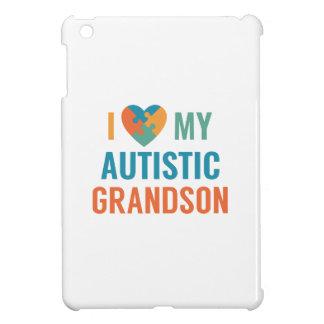 I Love My Autistic Grandson iPad Mini Cases