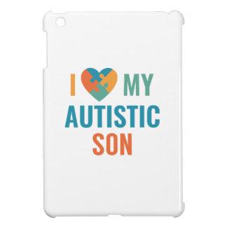 I Love My Autistic Son Cover For The iPad Mini