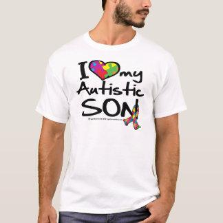 I Love My Autistic Son T-Shirt